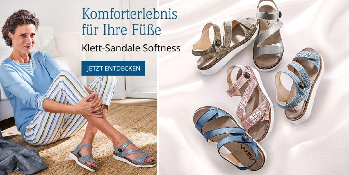 Klettsandale Softness | Avena