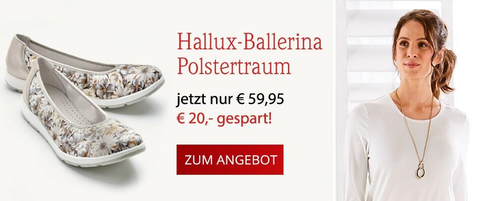 Hallux-Ballerina Polstertraum   Avena