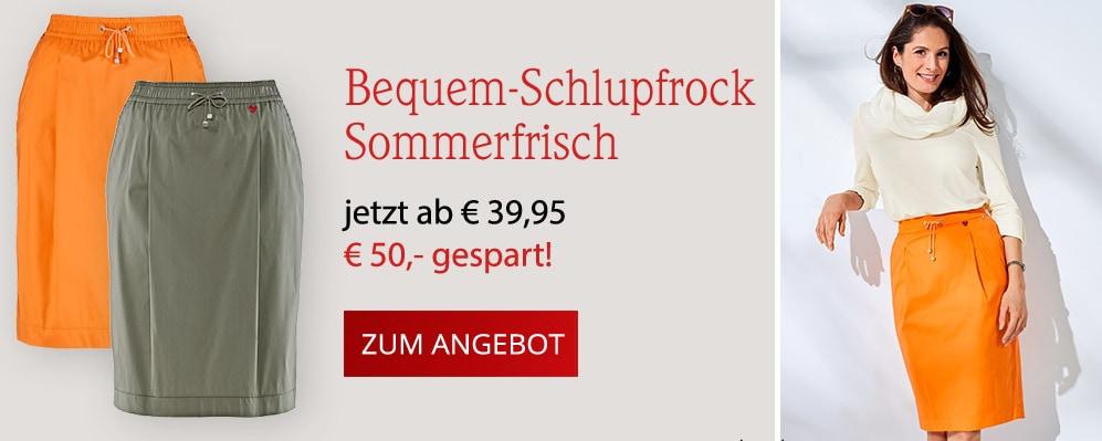 Bequem-Schlupfrock Sommerfrisch   Avena