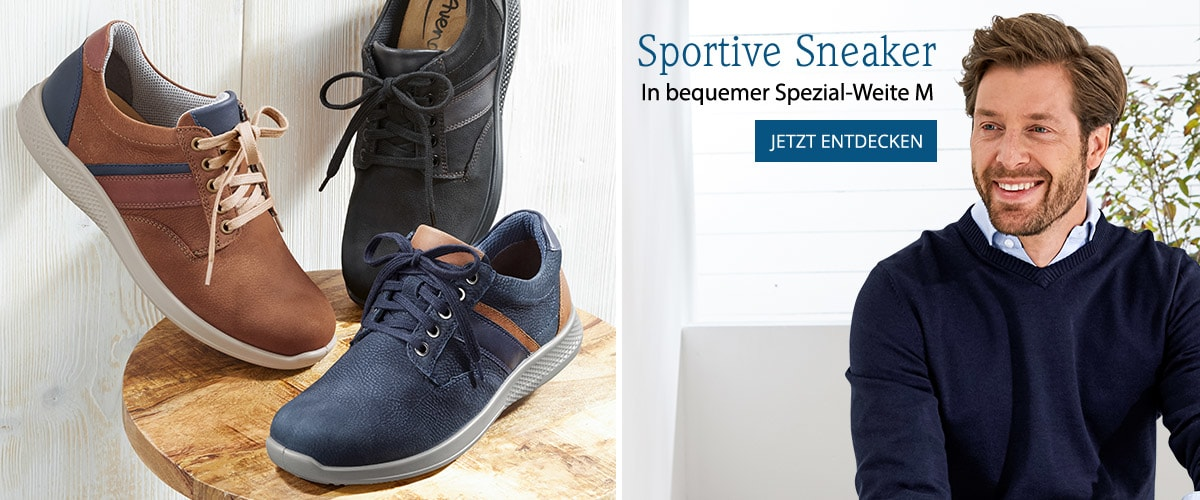 Derby-Sneaker Weitenkomfort   Avena