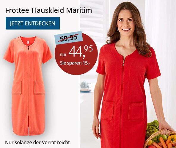 Frottee-Hauskleid Maritim   Avena