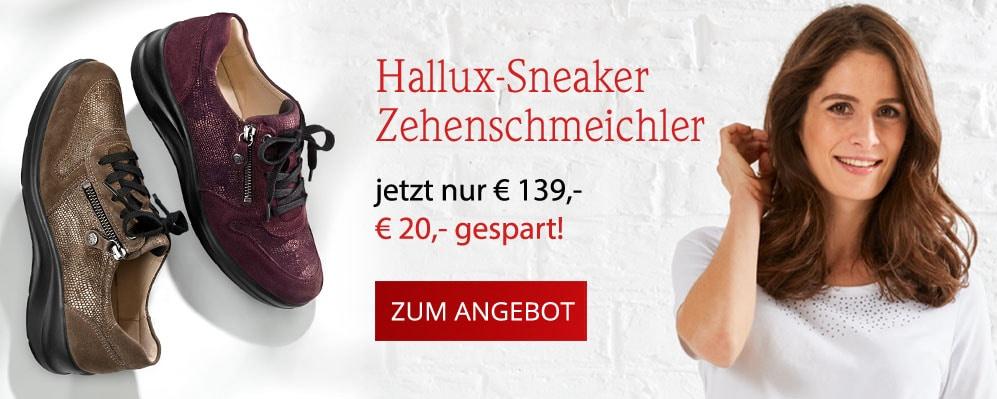 Hallux-Sneaker Zehenschmeichler | Avena