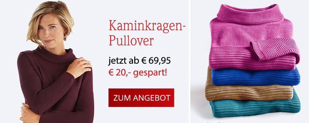 Kaminkragen-Pullover | Avena