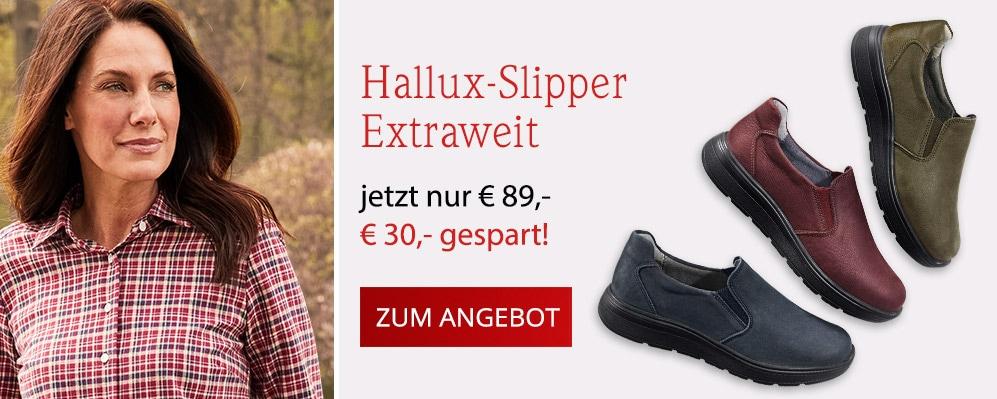 Hallux-Slipper Extraweit | Avena