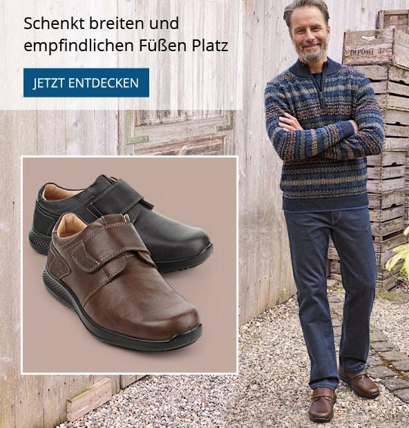 Klett-Sneaker Weitenkomfort | Avena