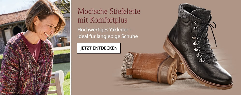Yak-Stiefelette Komfort   Avena