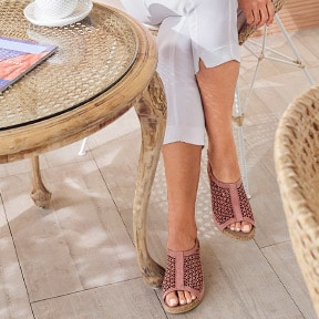 Bequeme Sandalen in Weite H | Avena