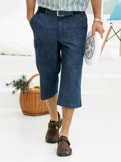 3/4-Komfortbundhose Jeans