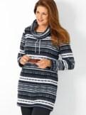 Long Pullover Kuschelfleece