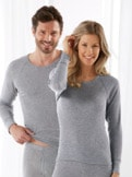 Winterwarm-Unisex-Shirt Langarm