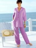 Tunika-Anzug Sommerleicht