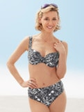 Shapewear-Bügel-Bikini Blüten