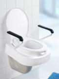 WC-Sitzerhöhung mit Armlehnen