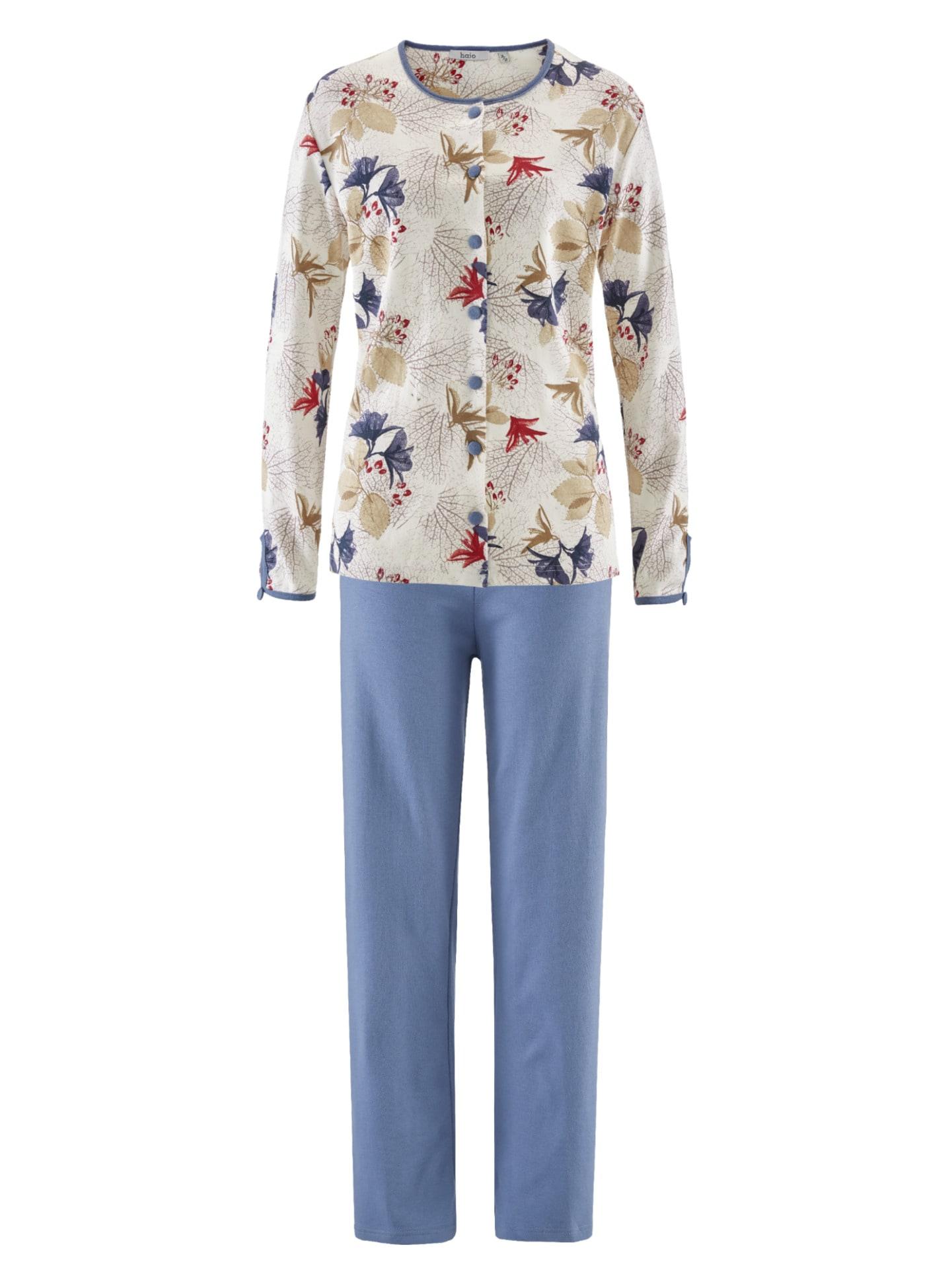 Avena Damen Pyjama Lila noch offen: Muster 42-6473-2_MV8880