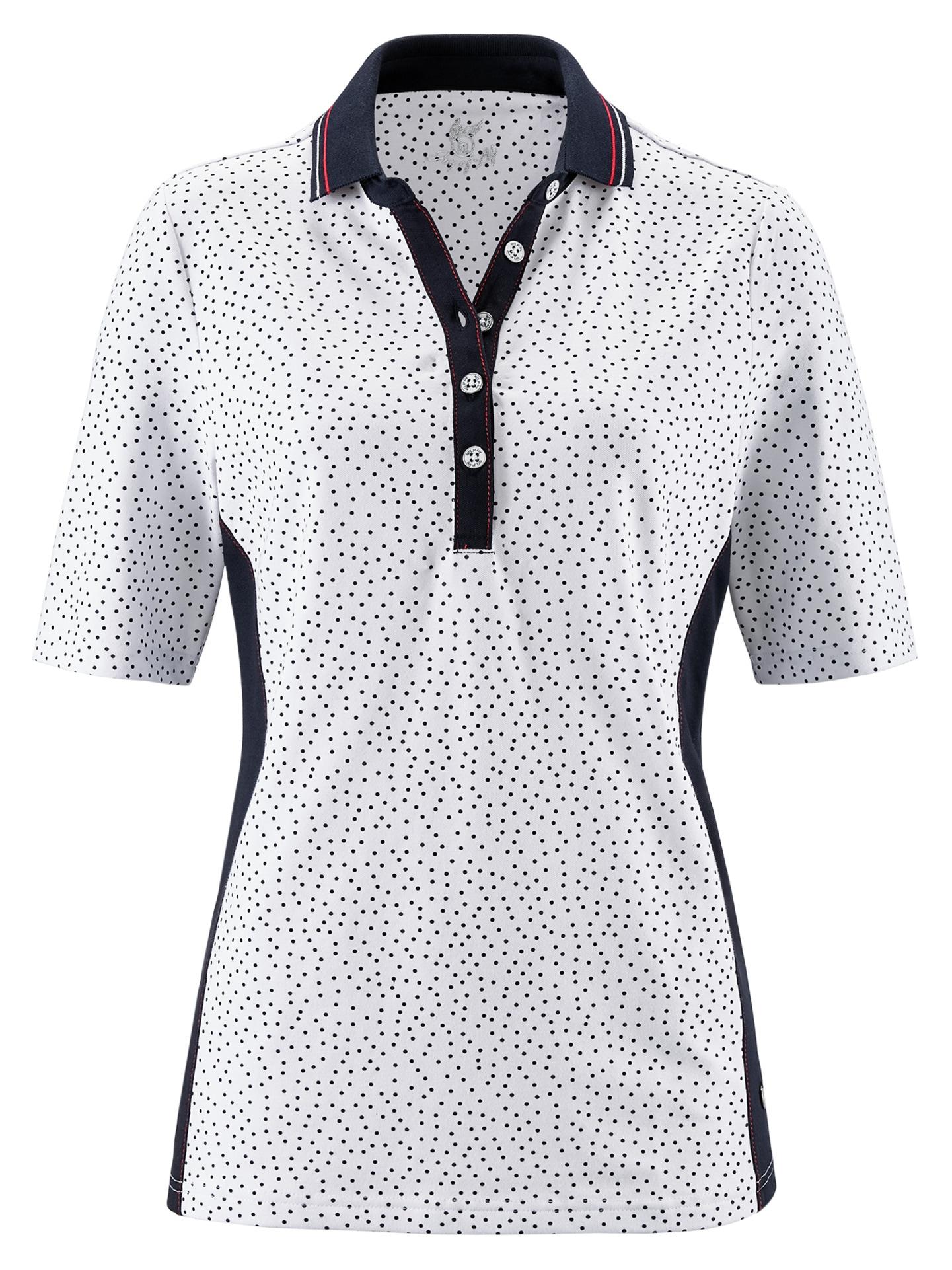 Avena Damen Poloshirt Maritim Weiß 43-5028-4