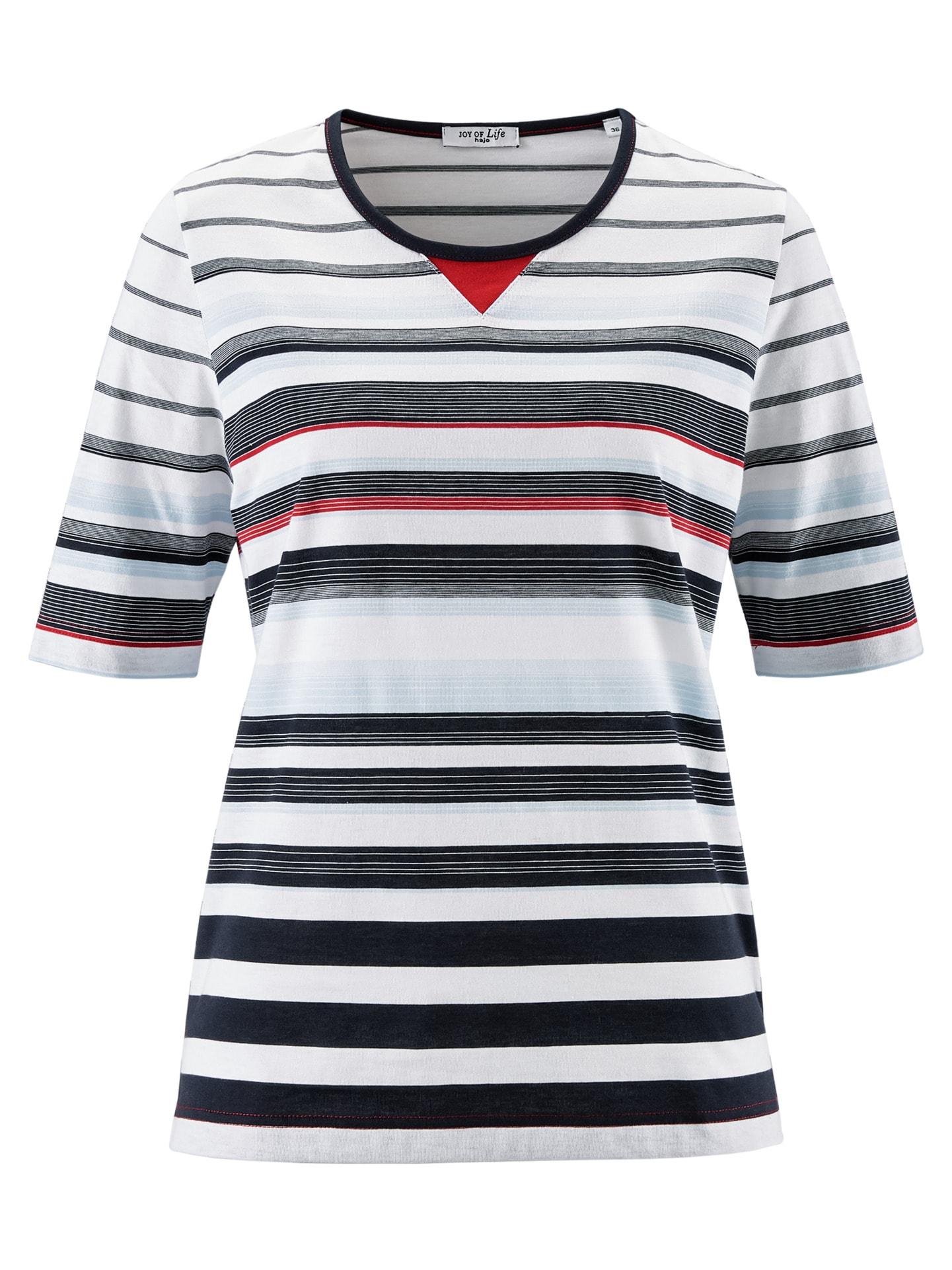 Avena Damen T-Shirt Maritim Weiß 43-5029-1