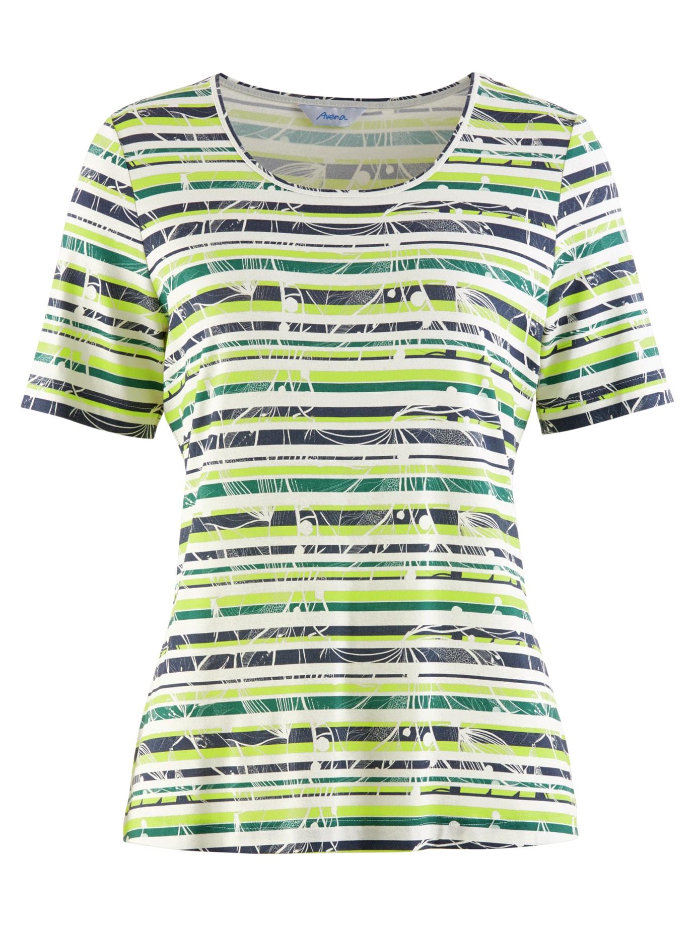 Avena Damen Aloe vera-Shirt Sommerfrische Gelb 43-6107-5