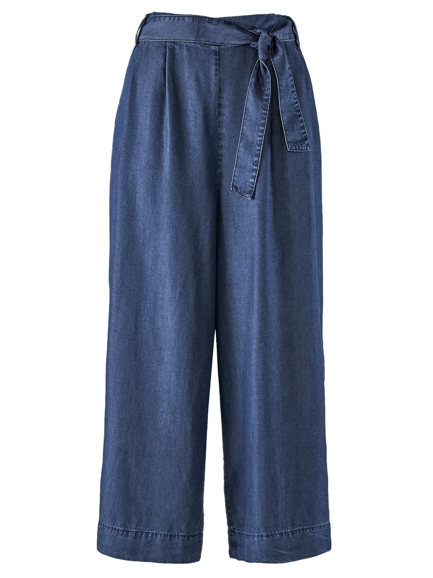 Avena Damen Hosenrock Soft-Denim Blau 44-5122-8