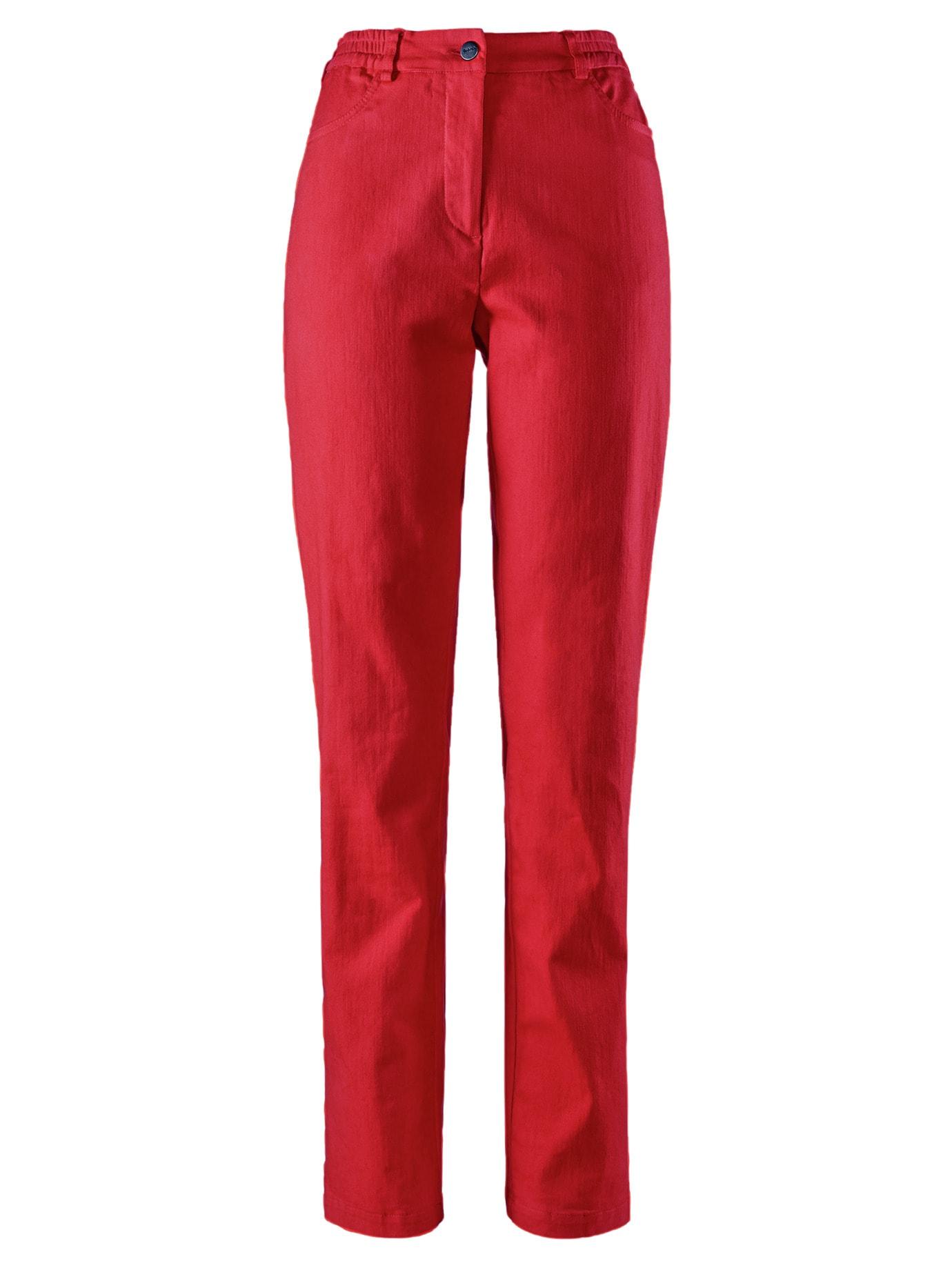 Avena Damen Powerstretch-Hose feminin Rot 44-5343-7