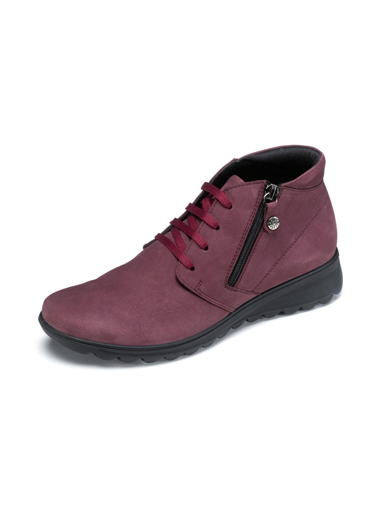 Avena Damen Luftkissen-Nubuk-Boots Ultraleicht Rot 45-6986-4