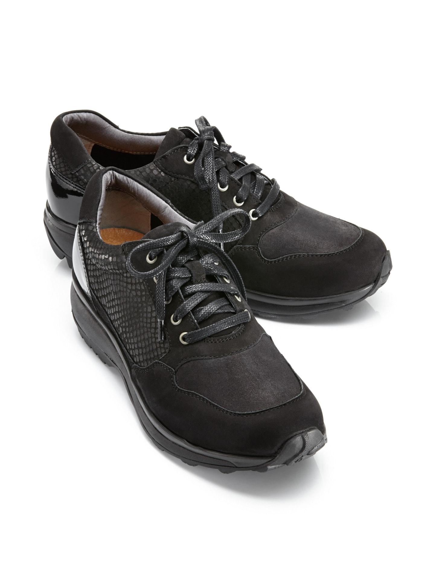 Damen Balance-Sneaker Rückenfit Schwarz Gr. 40