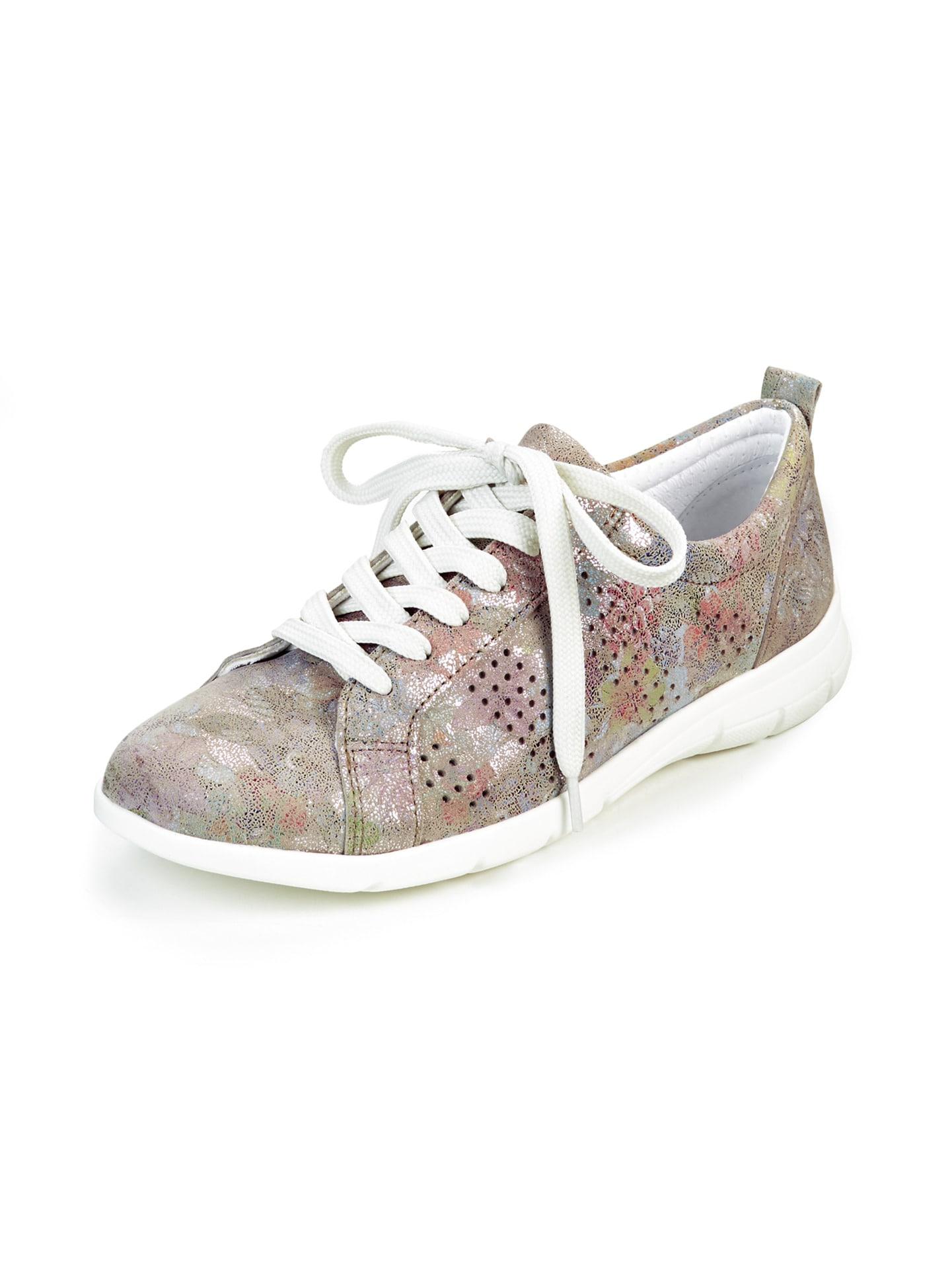 Avena Damen Leder-Leicht-Sneaker Rosé 45-7278-9