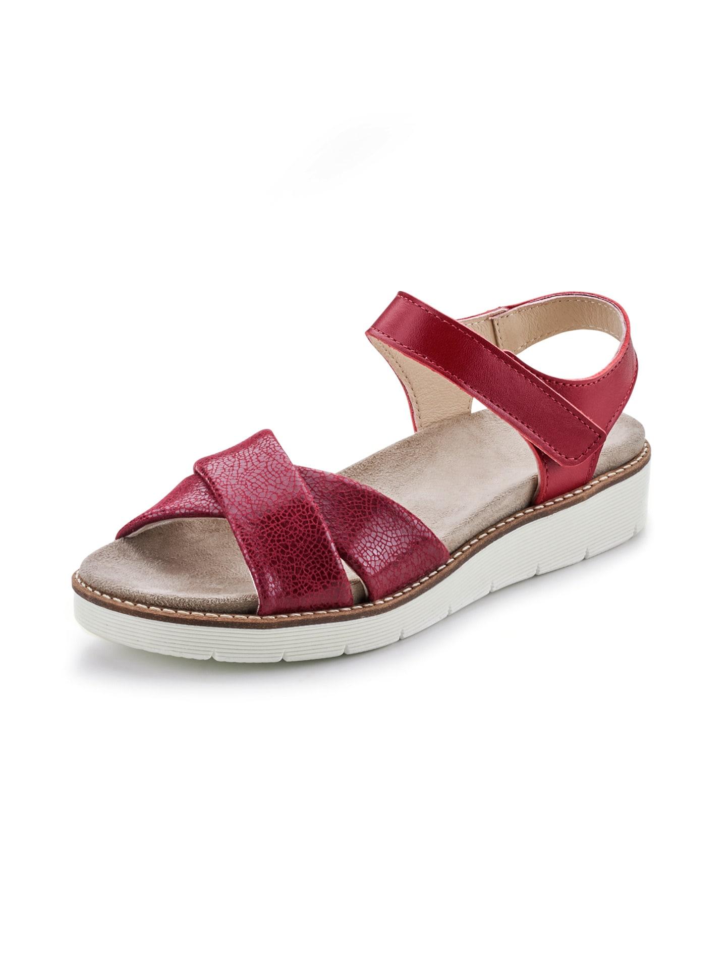 Avena Damen Hallux-Sandale Softness Rot 45-7876-7