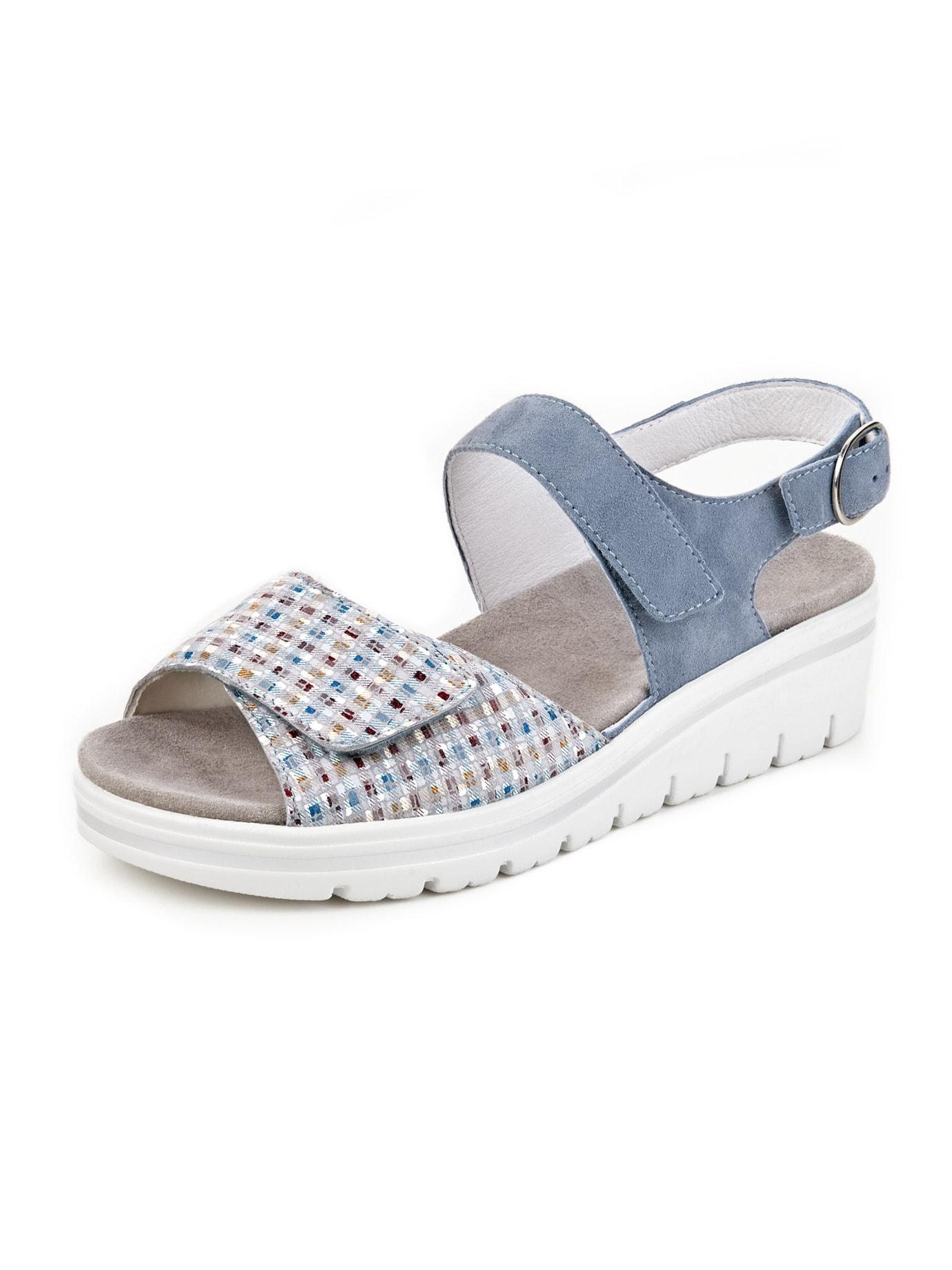 Avena Damen Hallux-Sandale de Luxe Blau 45-7952-8
