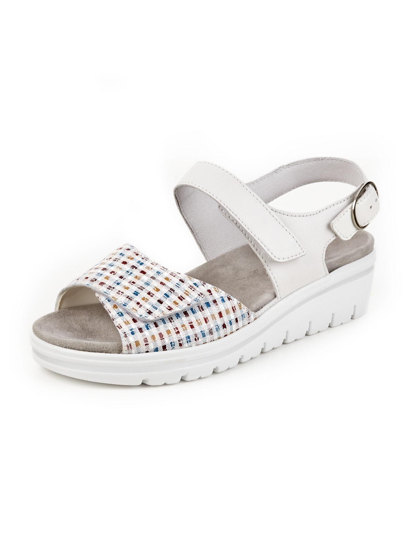Avena Damen Hallux-Sandale de Luxe Weiss 45-7954-2