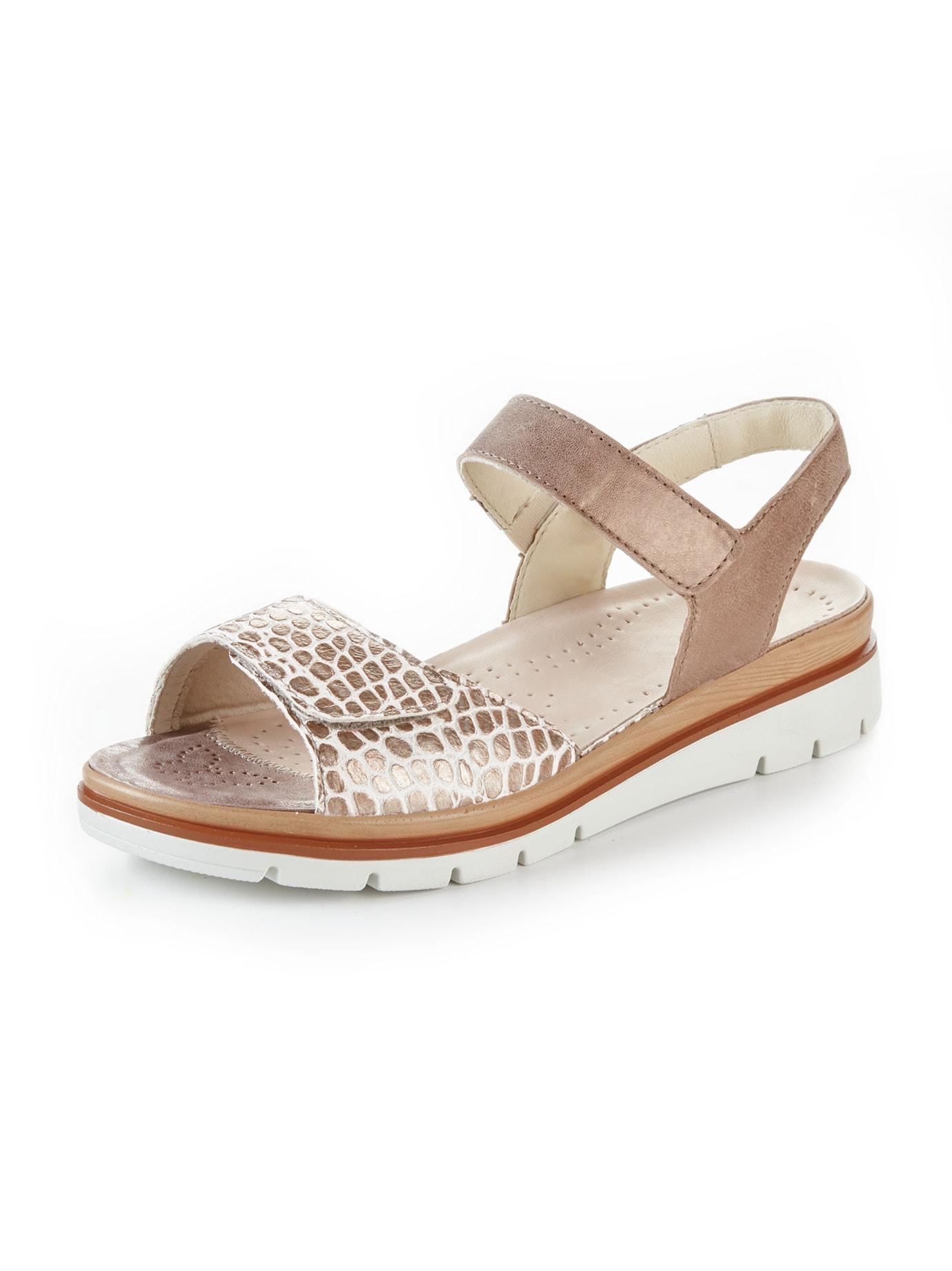 Avena Damen Hallux-Sandale De Luxe Braun 45-8115-6