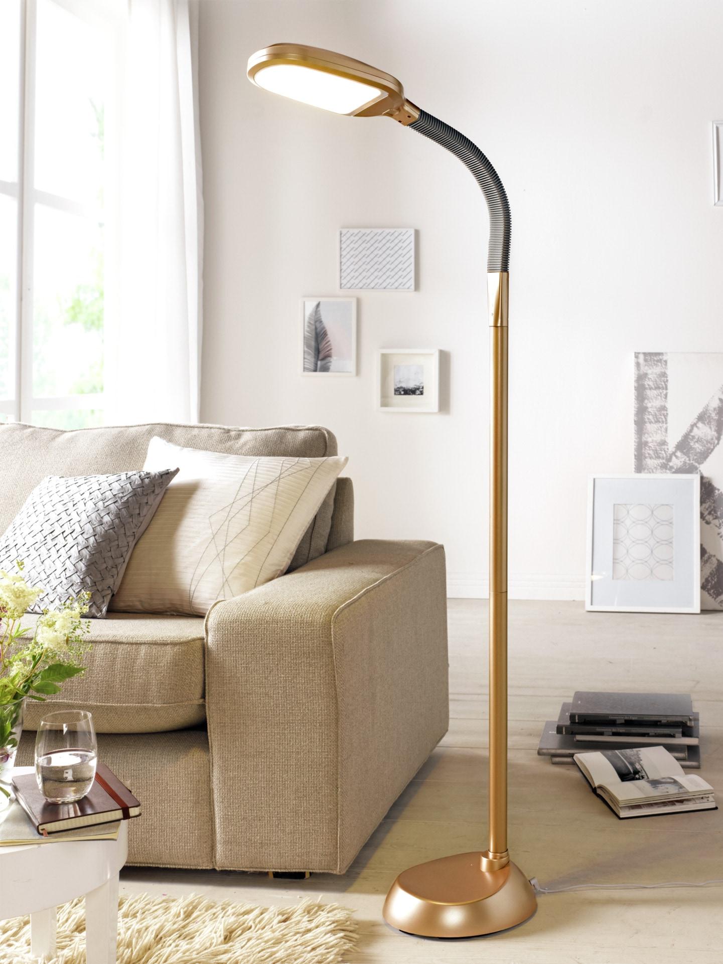 Avena LED-Tageslicht-Standleuchte Gelb
