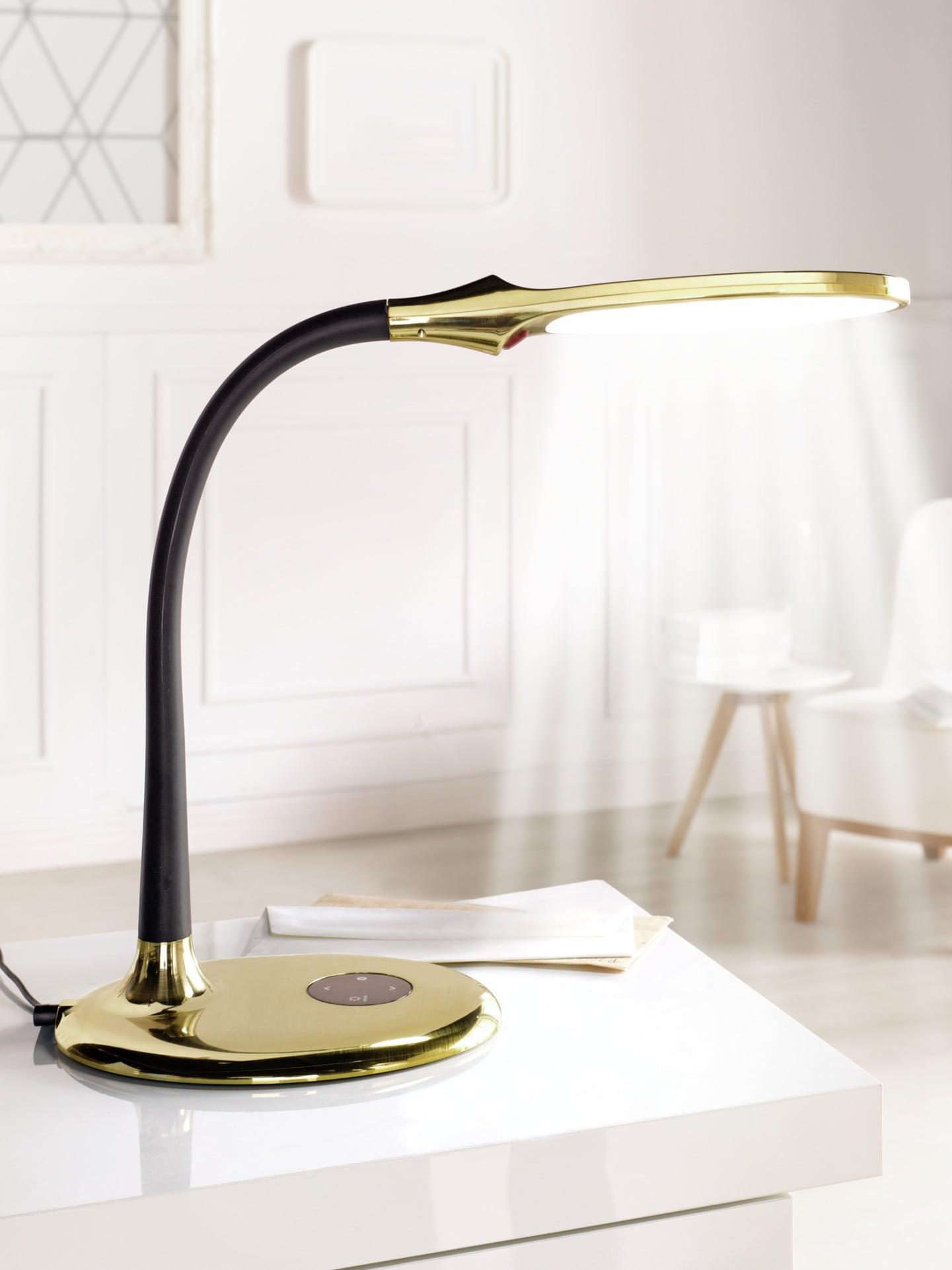 Avena LED Tageslicht-Tischleuchte Braun
