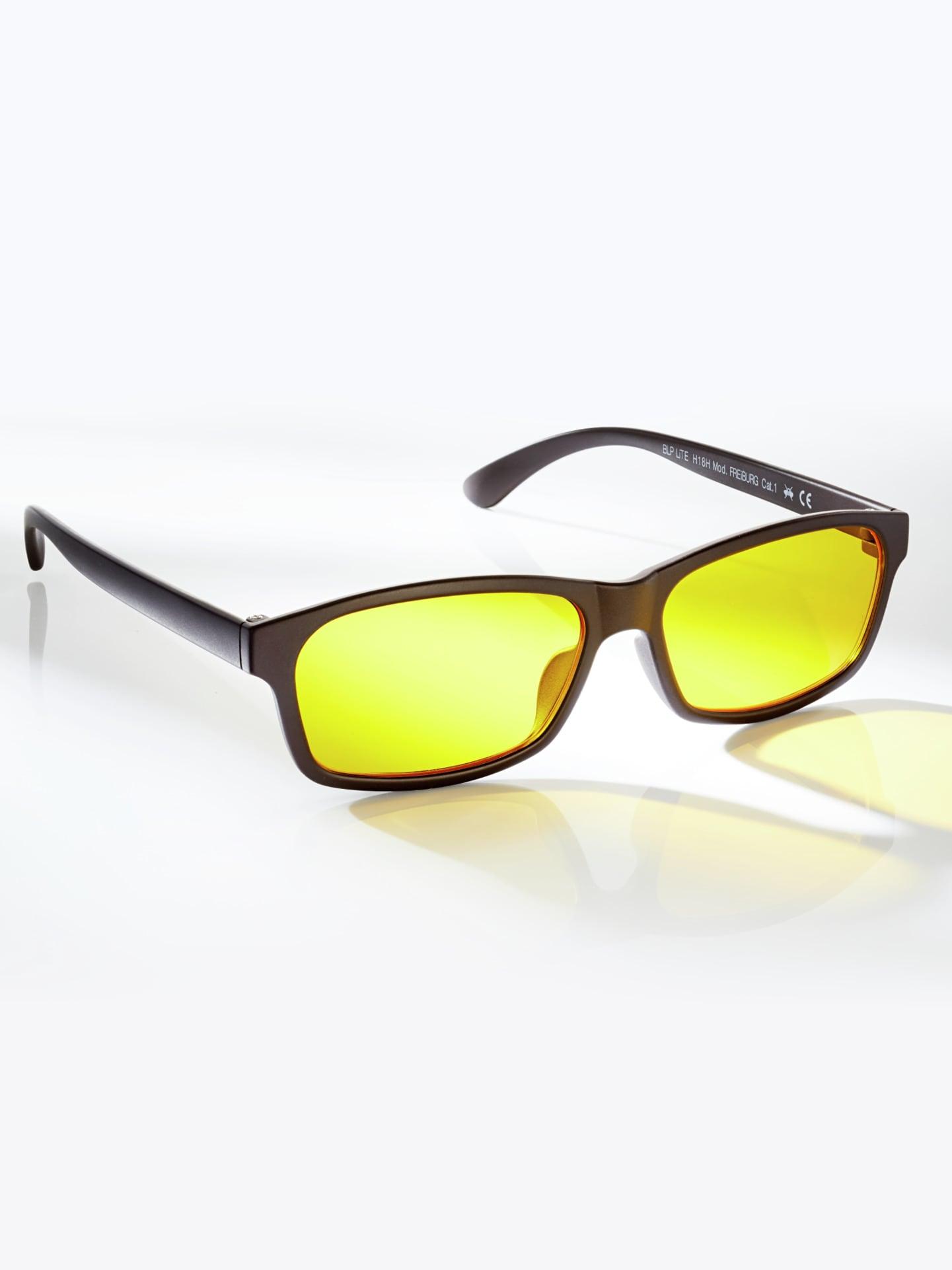 Avena Herren Blaulichtfilter-Brille Schwarz 63-0201-0