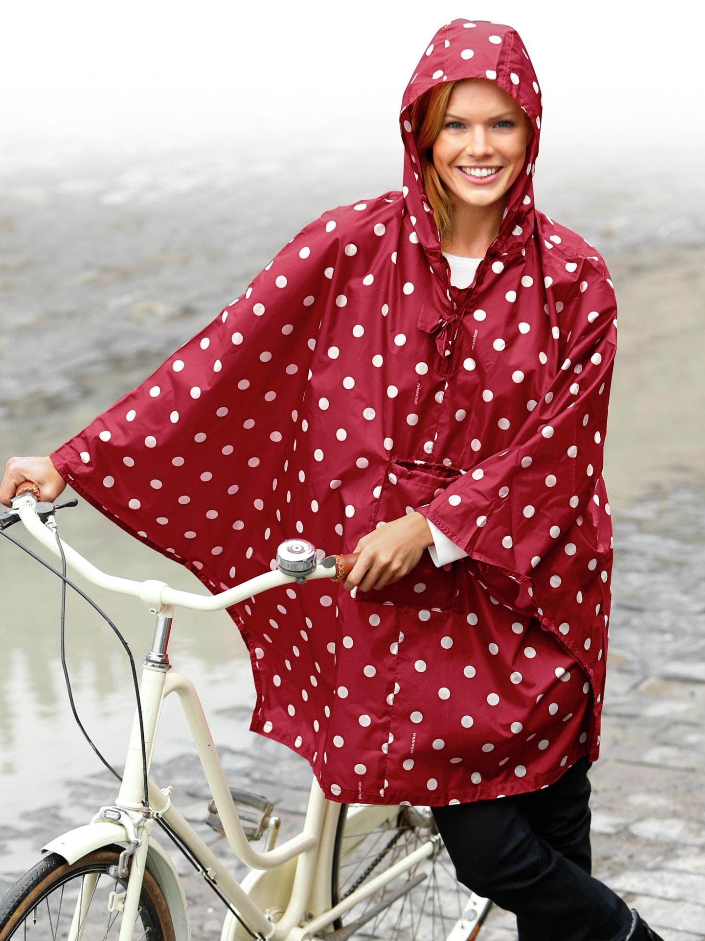 Regenponcho Damen Fahrrad