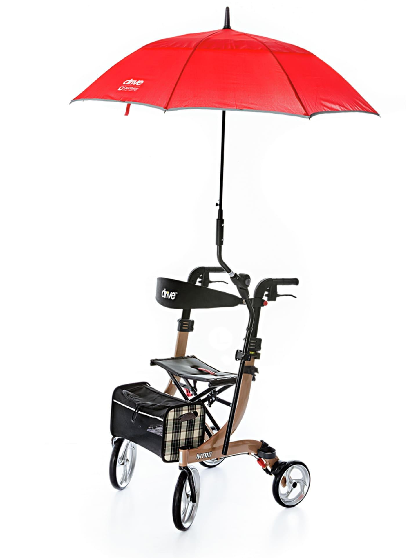 Avena Herren Rollator-Regenschirm Rot 63-0466-3
