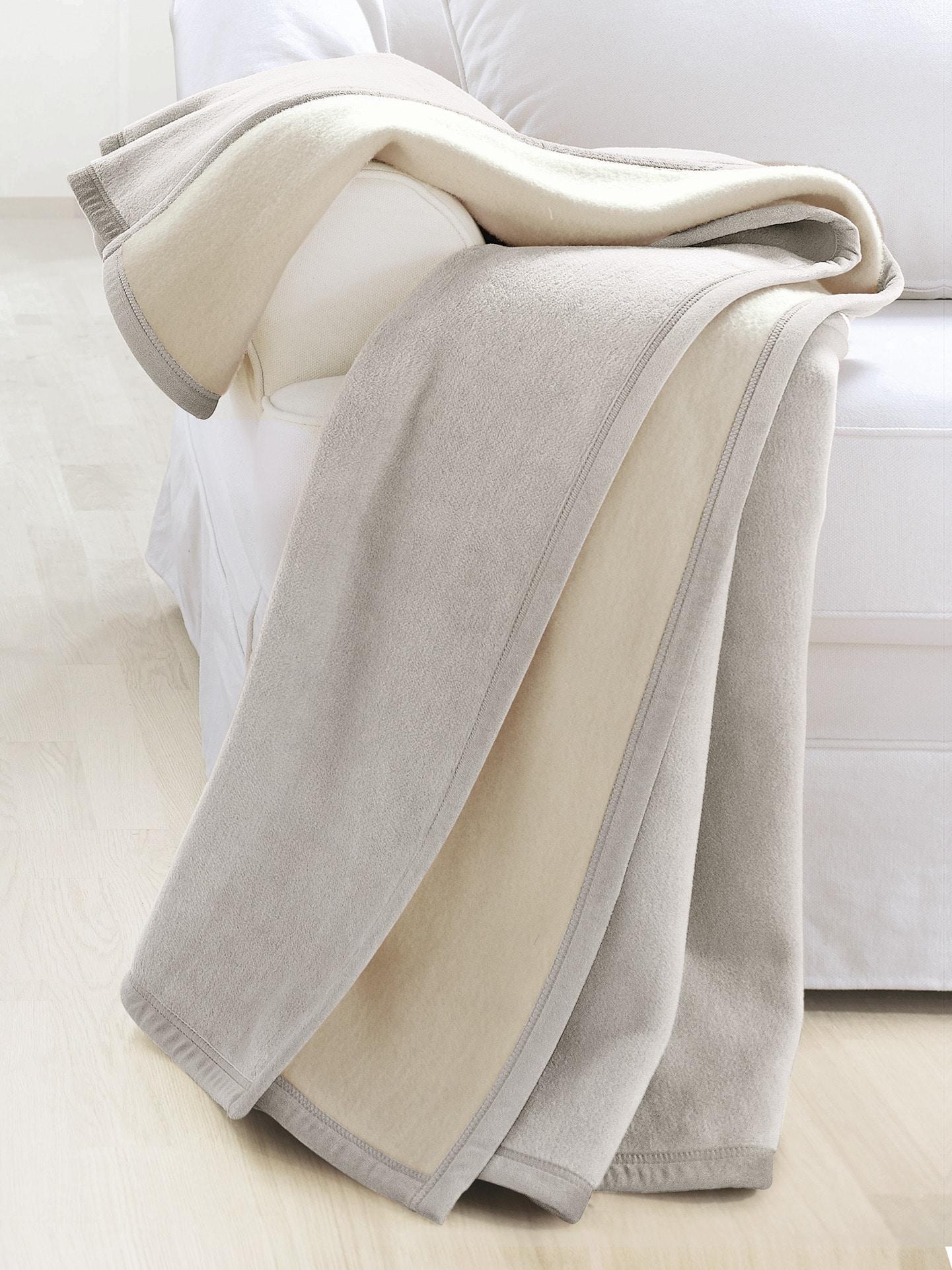 Avena noch offen: Marke Herren Wohn-Decke Weiß noch offen: Muster 65-0485-2_MV11263