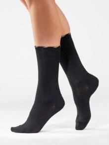 Lambswool-Socke antibakt. 2 Paar