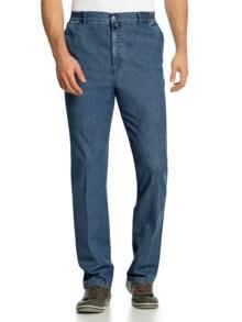 Herren-Komfortbund-Jeans