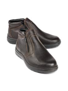 Bequem-Boots wasserabweisend Braun Detail 1