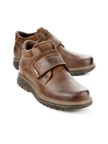 Aquastop-Klett-Boots Braun Detail 1