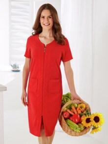 Frottee-Hauskleid Maritim