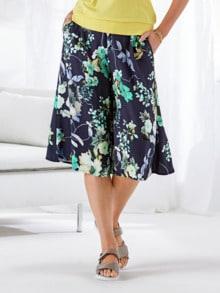 Bequembund-Hosenrock Blüten