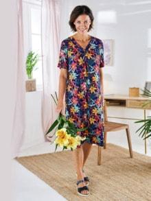 Haus-und Gartenkleid Sommerdruck