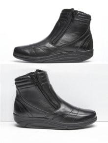 Rollsohlen-Stiefel