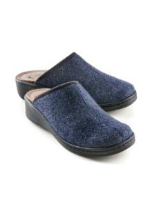 Magnetfußbett-Pantolette Wollfilz