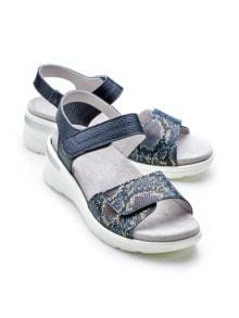 Klett-Sandalette Chic & Sicher