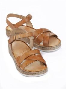 buy online f1b1a b2ce4 Sandalen mit Klettverschluss bequem online kaufen