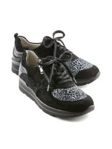 Hallux-Sneaker Weitenkomfort Schwarz Detail 1