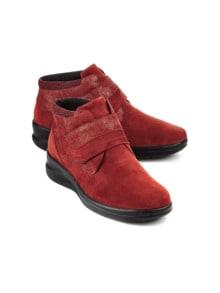 Hallux-Lammfell-Klett-Boots
