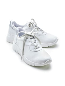 Hallux-Sneaker Supersoft Weiß Detail 1
